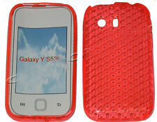 Pattern Gel Case Protector Cover For Samsung Galaxy Y Young GT S5360 Orange UK
