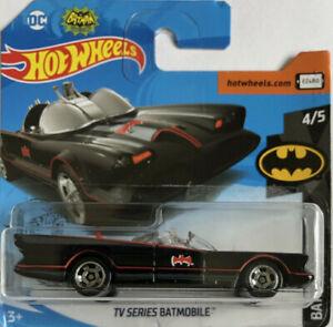 Short Card DieCast Hotwheels TV Series Batmobile 4//5