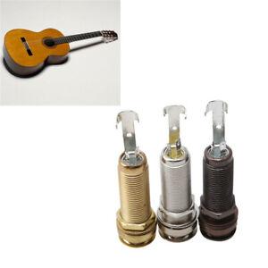 Guitar-Metal-Threaded-Cylinder-Mono-End-Pin-Output-Jack-Plug-Socket-D