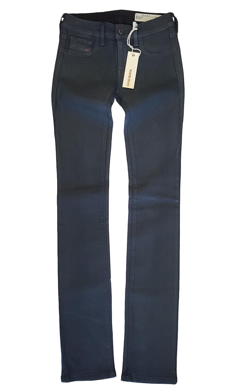 Diesel Women's Livier W 23 x L 32 Super Slim-Skinny Regular Waist Stretch Jeans