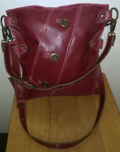 Image Is Loading Vintage Matt Amp Nat Vegan Leather 100 Pvc