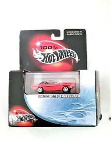 Hot-Wheels-100-1970-Dodge-Challenger-No-29-Red-Car-New-with-package