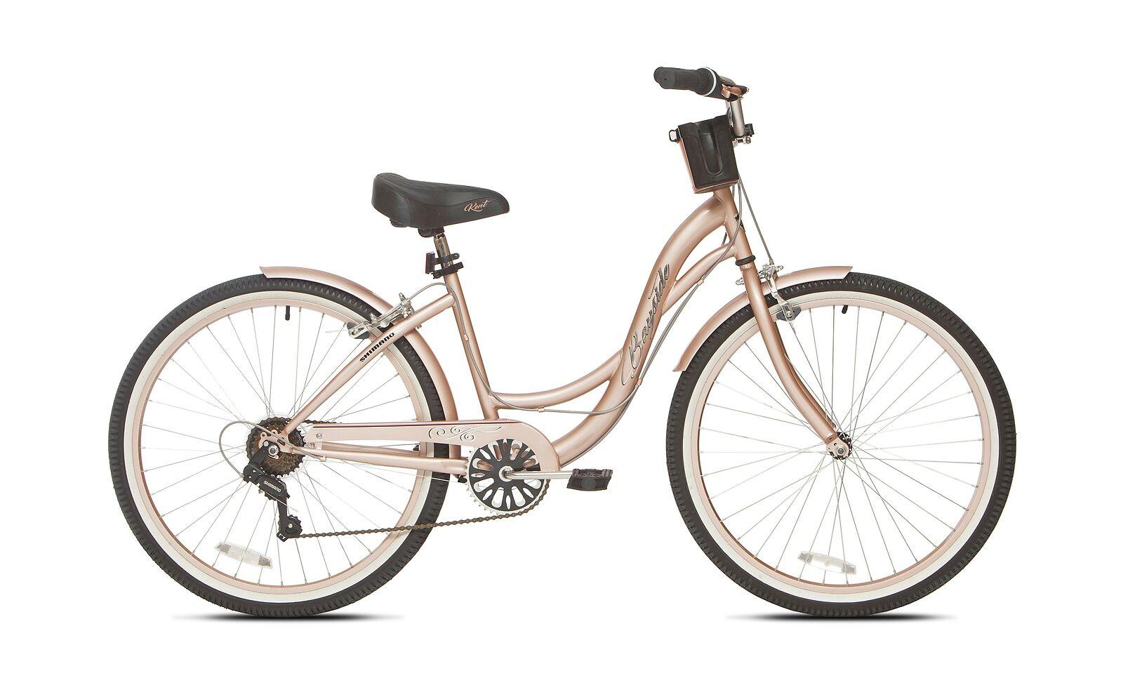 Kent 26  Women's, Bayside Cruiser Bicycle, gold