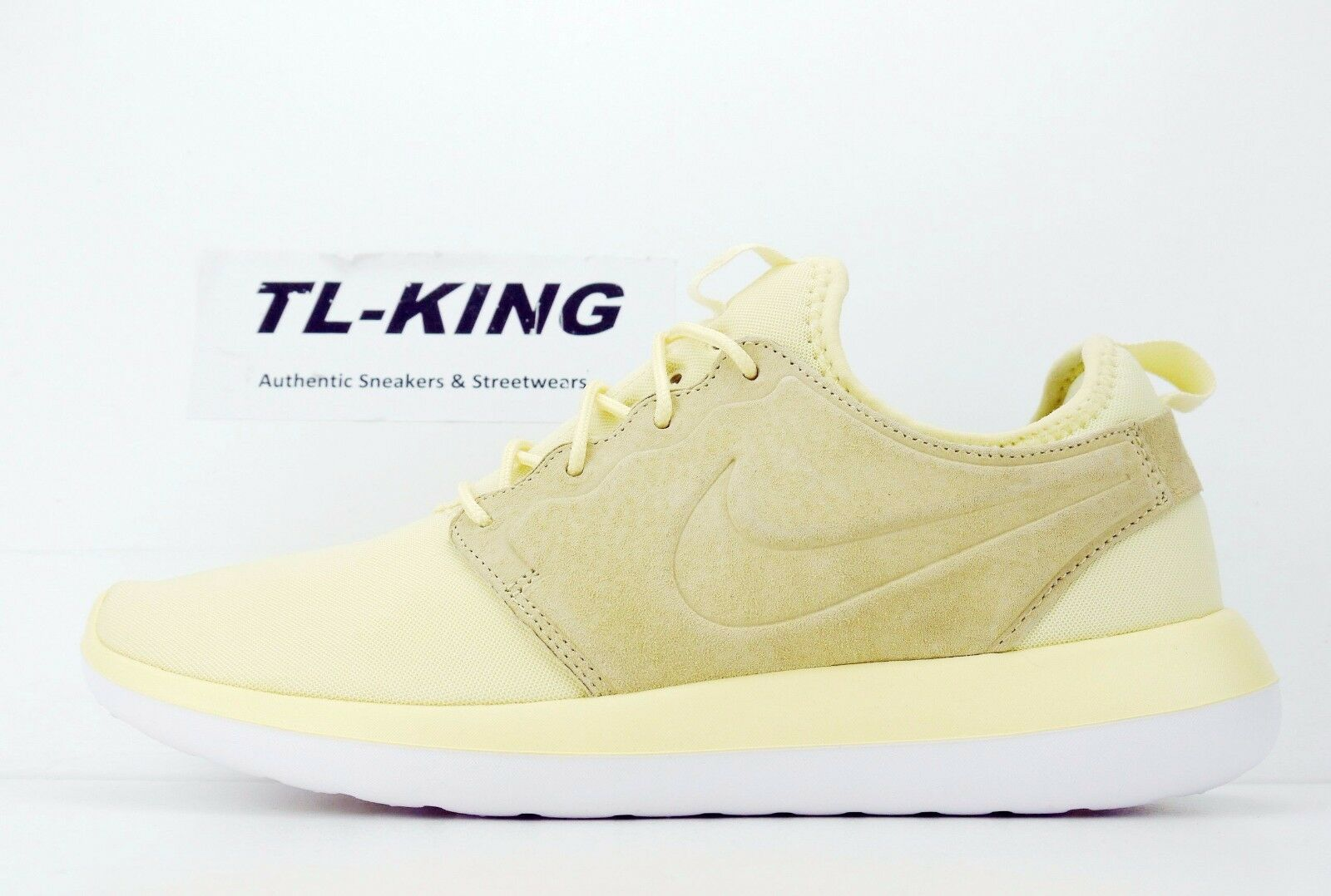 Nike Roshe Two BR Breath Lemon Chiffon Yellow Sneaker 898037-700 Msrp Price reduction