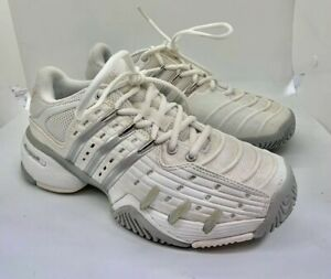 Tennis Shoes White/Silver BY2926 US 6.5