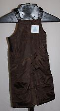 NWT Brown Baby Gap Water Resistance Snow Puffer Overalls Boy's Size 18-24m