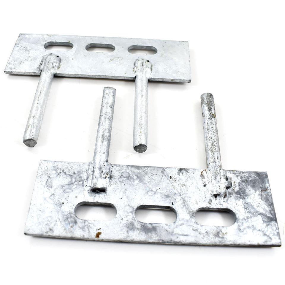 consegna lampo 20 PAIA - 150 mm x 50 mm mm mm Ghiaia Board Pannello Clip - 2 PIN Tacchetti recinzione staffe  centro commerciale di moda