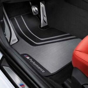 bmw 3 series f30 f31 m performance floor mats front set. Black Bedroom Furniture Sets. Home Design Ideas