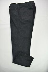 Vintage men pant gray Super 100s Vitale Barberis Canonico Fabric made in Italy