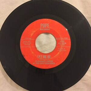 Clarence-Green-Let-Me-Be-Hurry-Home-VG-POPE-RARE-Texas-raw-funk