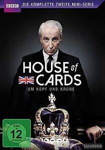 House-of-Cards-Die-komplette-zweite-Mini-Serie-2-DVDs-DVD-Zustand-gut