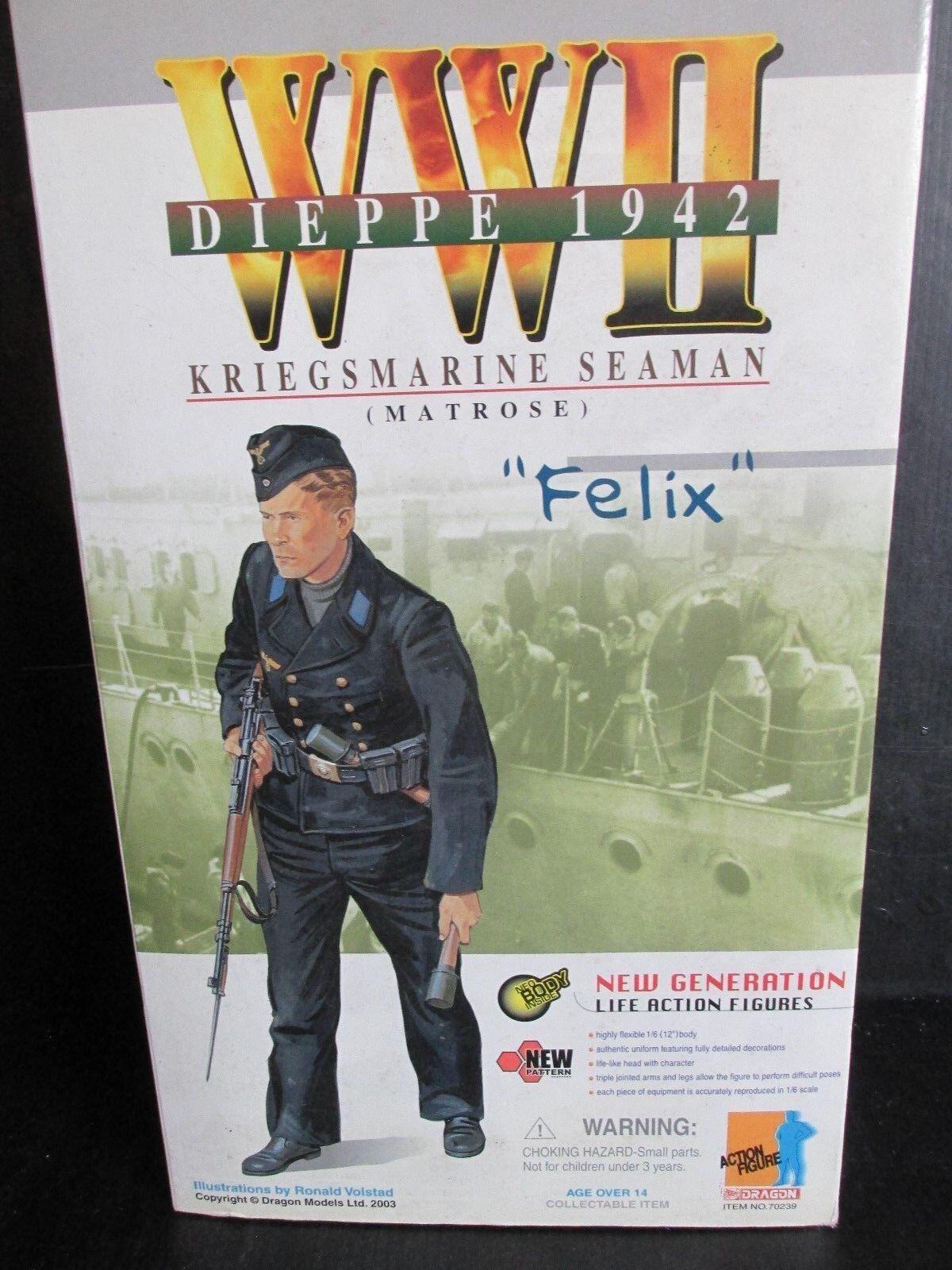 Dragon+ 1 6th scale Action figures WW11 DIEPPE   1942  FELIX