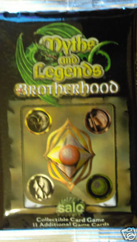 MYTHS /& LEGENDS BROTHERHOOD CCG BOOSTER PACK