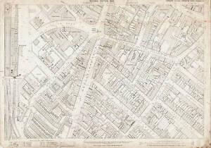 OLD ORDNANCE SURVEY MAP WHITEHEATH GATE 1902 PORTWAY ROWLEY REGIS OLDBURY