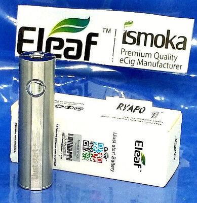 plus iJust Start black silver batterie 1600//1300mah eleaf