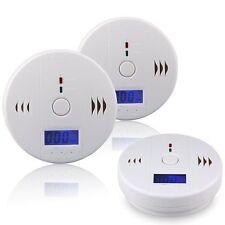 CO Carbon Monoxide Tester Poisoning Gas Sensor Warning Alarm Detector LCD