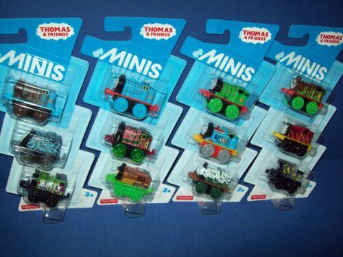 Thomas /& Friends Minis 12 cars NEW stocking stuffers  Percy Emily Henry Luke