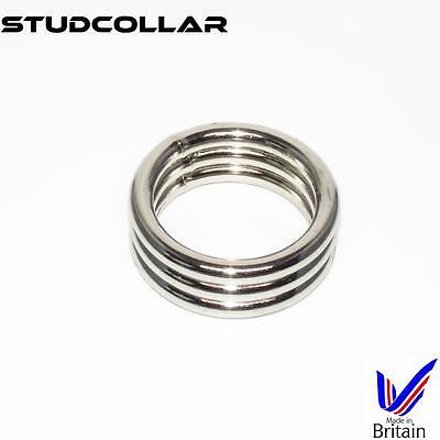 1 Per Order Volume Large Metal Penis Erection/enhancing Collars Inventive Studcollar-supermax3