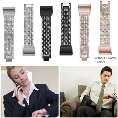 New For Fitbit Charge 2 Band Metal Stainless Steel Milanese Mesh Wristband Strap