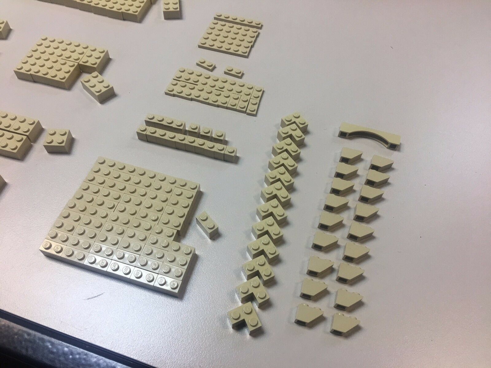 Old Old Old Vintage LEGO assortment 318 pieces same color - more than 500g c347dc