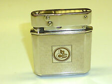 """HELIOR """"52"""" (HABL & CO) AUTOMATIC POCKET PETROL LIGHTER - 1952 - MADE IN GERMANY"""