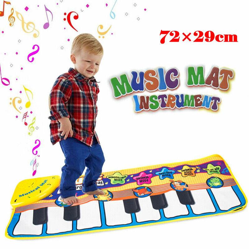 Musical Music Kid Piano Play Baby Mat Animal Educational Soft Kick Toy US 2