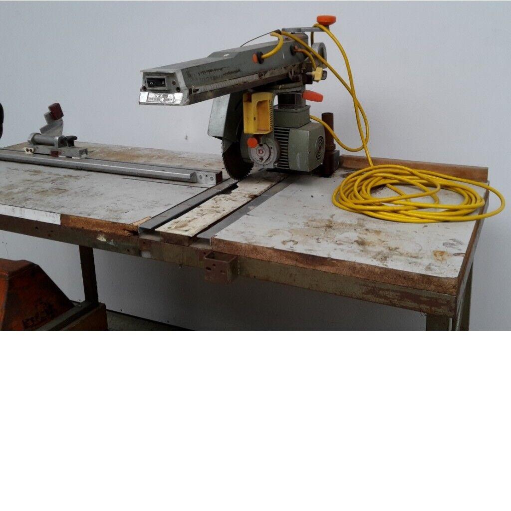 Radialsäge Dewalt DW 110 gebraucht Radialkreissäge Radialarmsäge Säge 33865