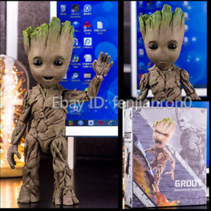 26CM-Baby-Groot-Guardians-of-the-Galaxy-Life-Size-HT-LMS005-Action-Figure-Gift