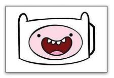 New Officially Licensed Adventure Time Finn Face Cartoon Mens Belt Buckle
