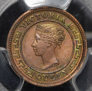 Ceylon 1901 1/4 Cent PCGS MS64RB peripheral golden green toning PC0799 combine s