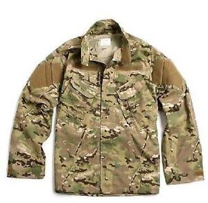 Analytique Us Army Multicam Ocp Nyco Combat Acu Coat Veste Jacket Shirt Ml/medium Long-afficher Le Titre D'origine Pour Convenir à La Commodité Des Gens