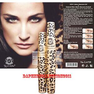 Love-Alpha-LA729-Gel-amp-Fiber-Mascara-Set-Refill-Pack-with-English-Leaflet