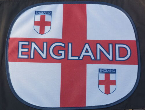 TWO ST GEORGE ENGLAND CAR SUN SCREENS SHADES BLINDS