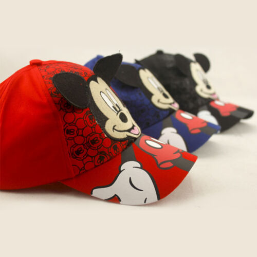 Kids Children Boy Girl Mickey Mouse Baseball Cap Hip-Hop Snapback Adjustable Hat