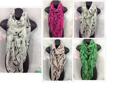 Ladies Marilyn Monroe Face Print Neck Scarf Woman/'s Shawl Sarong Wrap Scarves