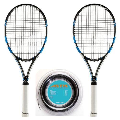 Babolat Pure Drive Rolle Griff L3 = 4 3//8 Tennis Racquet Tenn 2015 x 2