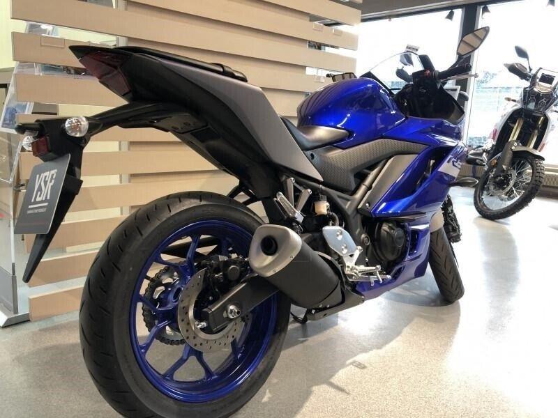 Yamaha, YZF R3, ccm 321