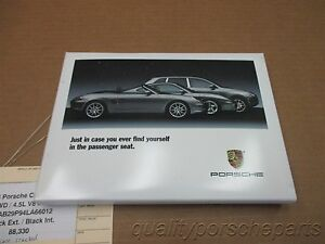 04 cayenne s awd porsche 955 multimedia owners manual cd disc 88 330 rh ebay com porsche cayenne owners manual 2013 porsche cayenne owners manual 2013