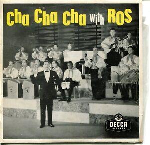 Vinyl-45rpm-Used-Edmundo-Ros-amp-His-Orchestra-Cha-Cha-Cha-With-Ros
