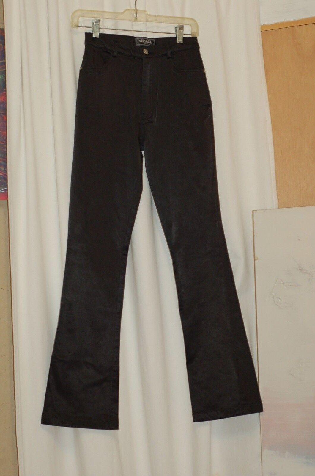 Versace Jeans Couture Negro Algodón Elastizado Pantalones Talla  26  Ahorre 35% - 70% de descuento