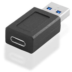3-0-USB-Kabel-Adapter-A-Stecker-maennlich-auf-USB-C-Kupplung-Buchse-weiblich