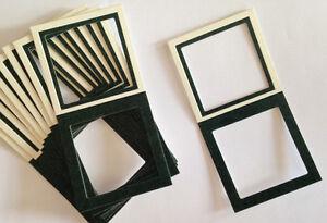 New LOT of 25 Cardboard Heat Seal 2X2 Super SLIDE MOUNTS 39MM Square Window