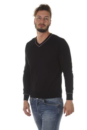 Armani 12 Nero Regular Uomo Pullover Maglia A6w05kd Jeans Sweater Maglietta Tq6T1w5