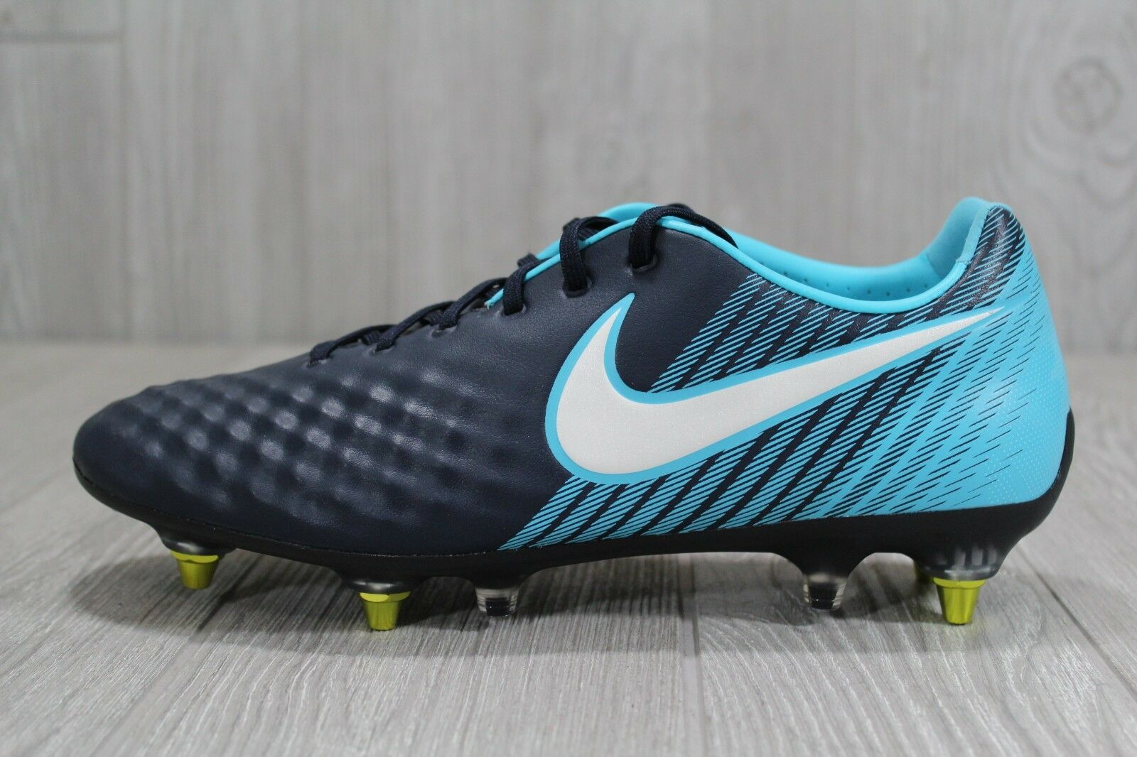 38 Nike Magista Opus II SG-PRO AC Anti Clog Soccer Cleats bluee US 9 889254-415