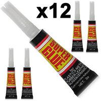 Premium quality super glue extra strong bond adhesive plastic glass rubber paper