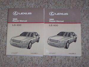 1995 lexus ls400 ls 400 factory workshop shop service repair manual rh ebay com 1992 Lexus LS400 Repair Manual 1998 Lexus LS400 Repair Manual