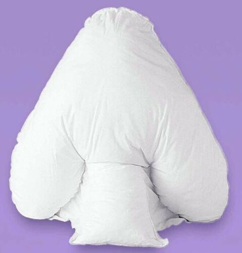 NEW QUALITY BATWING PILLOW ORTHOPAEDIC BACK NECK SUPPORT SOFT ULTRA HOLLOWFIBRE