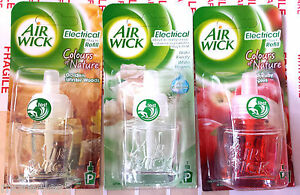 3-X-AIRWICK-Air-wick-PLUG-IN-refill-Air-Freshener-SELECT-THE-FRAGRANCE-3-Pack