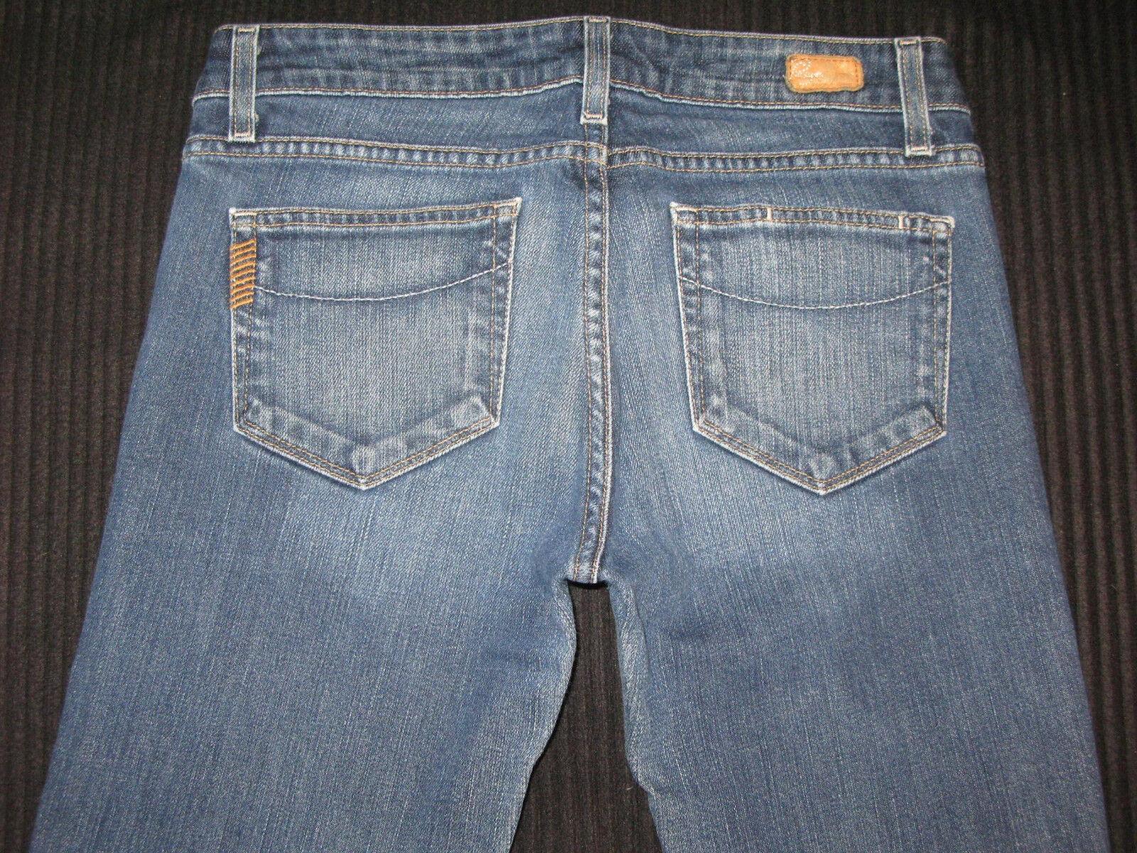 Paige Premium Jeans Melpink Classic Rise Straight Leg Sz 28  MSRP
