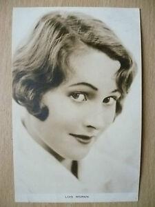 Film-Actresses-Postcard-LOIS-MORAN-039-039-Film-Weekly-London-039-039
